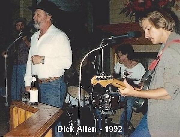 With Dick Allen - 1992