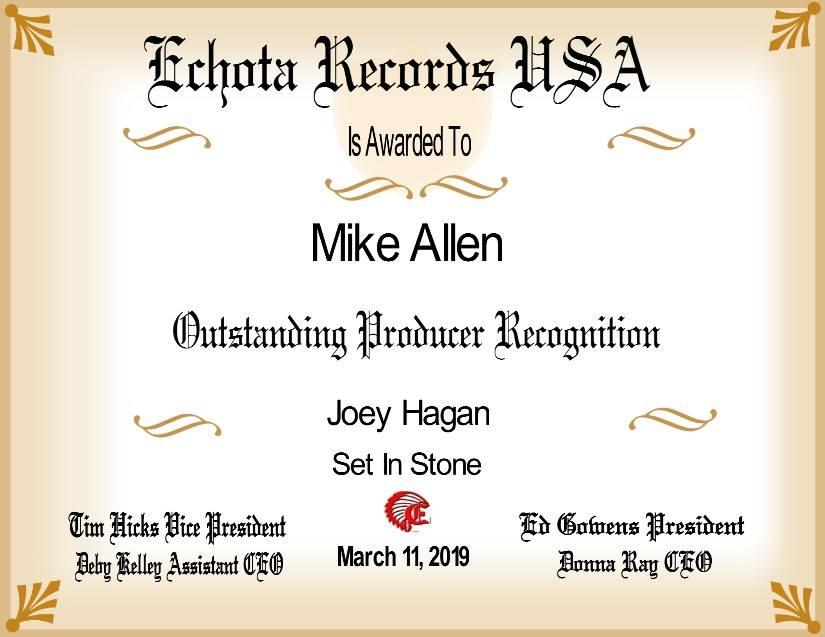 Echota Producer Award